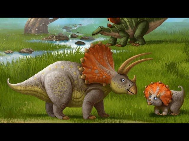 Динозавры Мультфильм про динозавров для детей