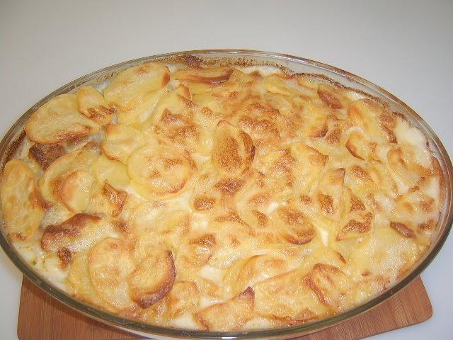 Картофельная запеканка | Рецепт Маринкины Творинки