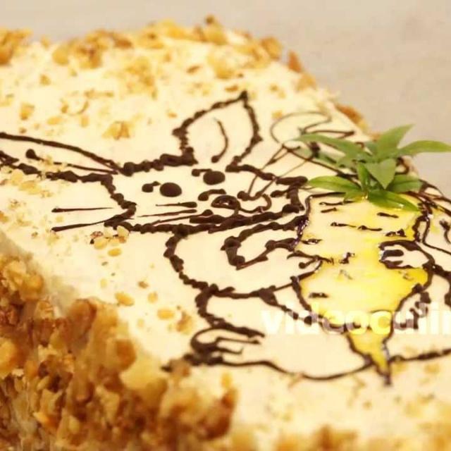 Морковный торт - Видео Рецепт Бабушки Эммы