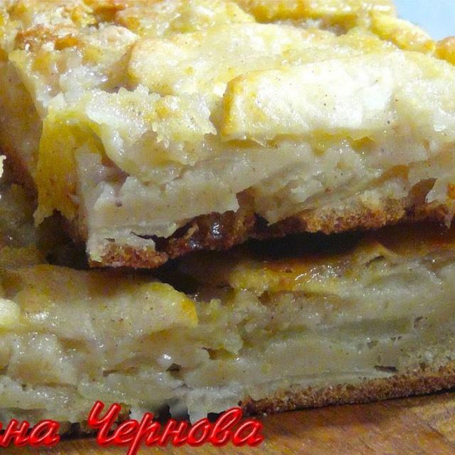 Яблочный Домашний  Пирог от Сестер Симили | Рецепт Светланы Черновой