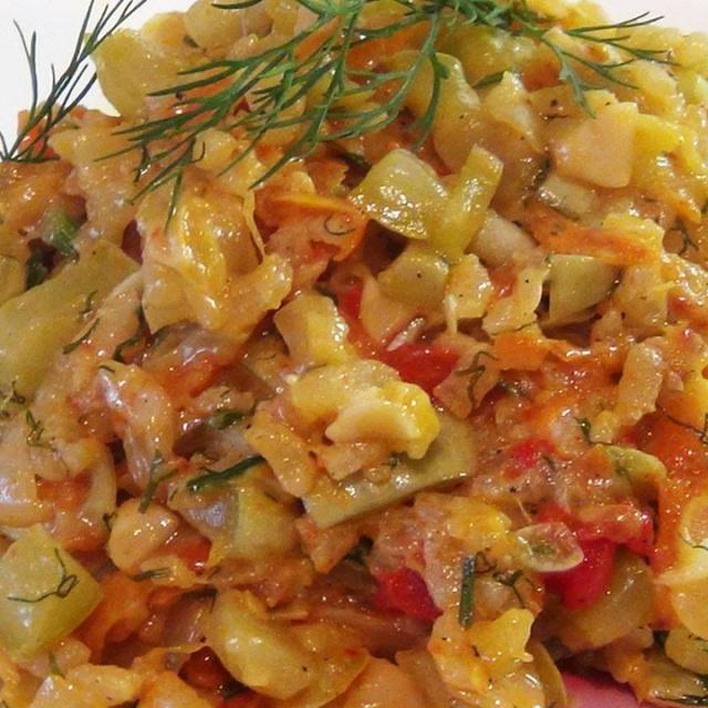 Тушеные кабачки с рисом | Рецепт Светланы Черновой