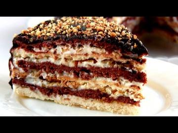 Простые и вкусные видео рецепты - Торт Мишка