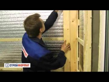 Как обшить вагонкой стены