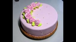 Светлана кесслер - Мастично-кремовое оформление торта