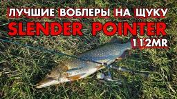 Лучшие воблеры на щуку - LC Slender Pointer 112MR + мой трофей 2015