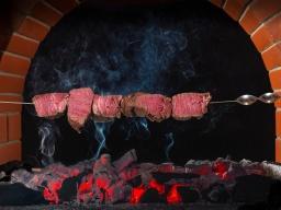 Шашлык из говядины | Рецепт Сталика Ханкишиева
