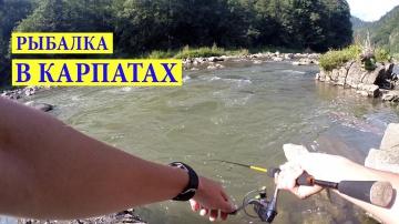 Рыбалка со Спиннингом на Горной Реке #1 Яремче. Ловля Голавля.