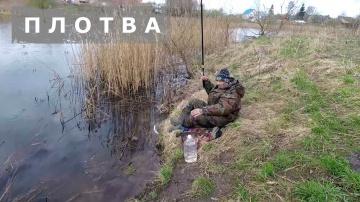 Кого ловить Одна плотва Рыбалка с матёрым дедом 2018
