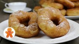 Пончики из советского детства (Russian donuts) |Рецепт