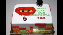 Светлана кесслер Оформление тортика в стиле Ниндзяго