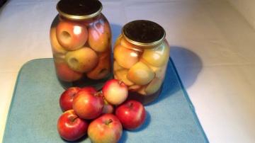 Огород где все растет 239. Яблоки на зиму в банках.  Просто и вкусно!