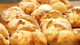 Яблочные пирожные - Рецепт Бабушки Эммы