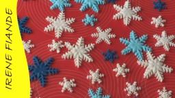 Украшения из мастики | Как сделать #снежинки для новогоднего торта