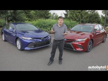 All-New 2018 Toyota Camry Test Drive Video Review
