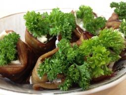 Ольга Матвей  -  Баклажаны (синенькие) Рулетики из баклажанов с сырной начинкой, Вкусный и простой р