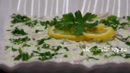 Сельдь под сметанным соусом - Рецепт Бабушки Эммы