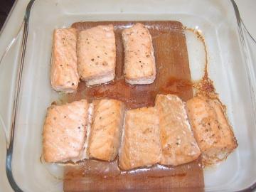 Лосось в духовке | Рецепт Маринкины Творинки