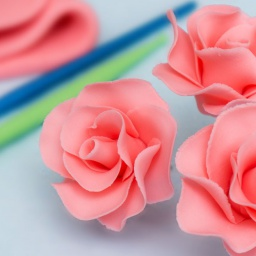 Украшение тортов цветами из мастик | Мастер класс