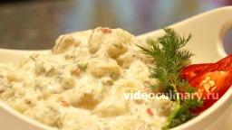 Салат из баклажанов с йогуртом - Рецепт Бабушки Эммы