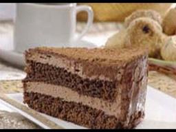 Шоколадно-кофейный тортик | Рецепт Светланы Черновой