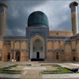 Мавзолей Тамерлана Гур-Эмир в Самарканде Узбекистан: Проклятие Тамерлана: Часть 26