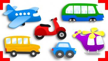 Мультики. МУЛЬТИКИ ПРО МАШИНКИ. Грузовичок, Автобус, Самолетик. Развивающий мультик для детей