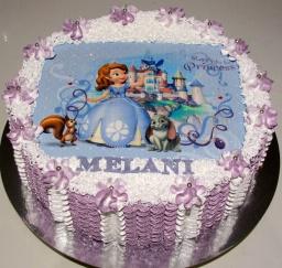 Светлана кесслер - Идея оформления детского тортика белково-заварным кремом