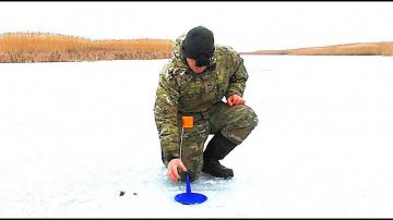 Жерлицы. Зимняя рыбалка на щуку. Рыбалка на льду. Опасный лёд, проталины.