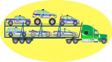 Машинки. АВТОВОЗ. Полицейские машинки. Мультики для детей