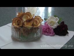 Печенье Розы к чаю - Рецепт Бабушки Эммы