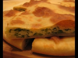 Ирина Хлебникова -  Быстрый пирог с сыром и зеленью