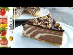 Алена Митрофанова -  Творожный торт (пирог) ЗЕБРА
