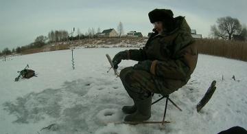Зимняя рыбалка - продолжение грустного сериала