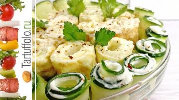 Потрясающий салат к празднику | Рецепт Алены Митрофановой