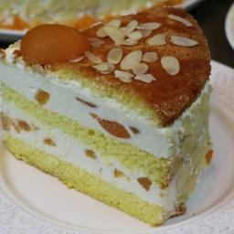 Творожный торт с фруктами от Ирины Хлебниковой