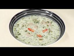 Довга - суп на кефире с фрикадельками от Ильи Лазерсона /  азербайджанская кухня