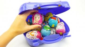 Открываем сюрпризы ищем игрушки из мультиков