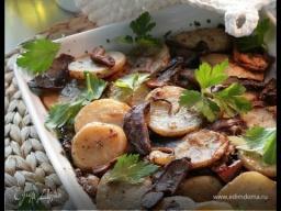 Юлия Высоцкая — Картофель с грибами