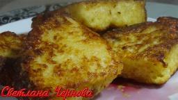 Гренки из кулича-нежные и вкусные /Toast | Рецепт Светланы Черновой