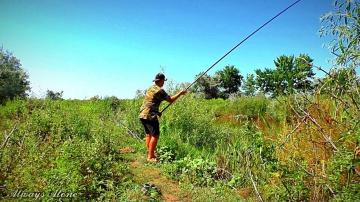 Рыбалка на карася и сома. Поплавочная ловля. Разведка на жмых.