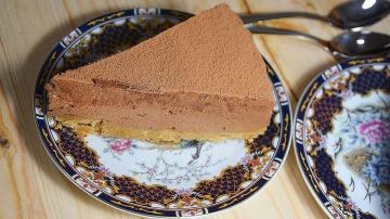 Шоколадный чизкейк со сгущенкой - ОБЪЕДЕНИЕ! Рецепт БЕЗ ВЫПЕЧКИ в домашних условиях (с желатином)
