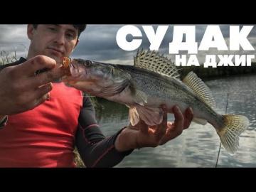 Вот это рыбалка ловля судака | Судак осенью на джиг