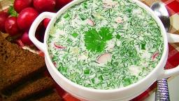 Окрошка на сметане – простой рецепт традиционной русской окрошки