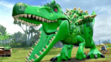 Мир Юрского Периода.Индоминус Сбежал.Игры и Мультики про Динозавров.Jurassic World#Лего