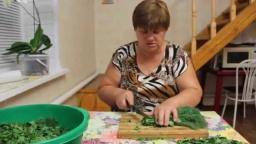 Юлия Минаева -  Заготовка зелени на зиму. Витамины даже зимой!