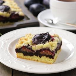 Сливовый Пирог с Шоколадом | Рецепт приготовления
