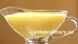 Ванильный соус - Рецепт Бабушки Эммы