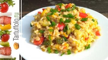 Алена Митрофанова ОСОБЕННЫЙ Рис с Овощами. Секрет приготовления мега вкусного риса.