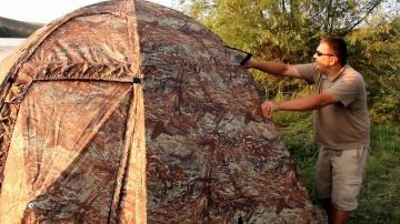 Супер универсальная палатка УП-2 БЕРЕГ(8 мм)(двухслойная)(Дневник рыболова)