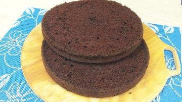 Я ТОРТодел Шоколад на Кипятке - Шоколадный бисквит - Я - ТОРТодел!